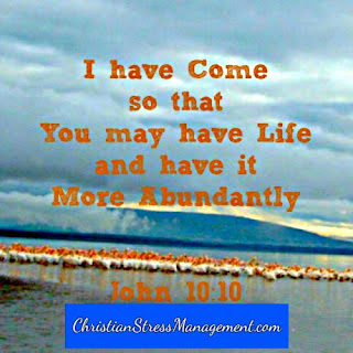 I have come so that you may have life John 10