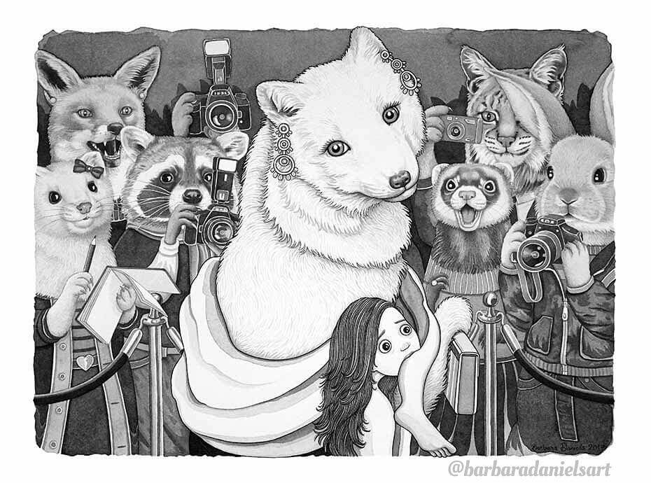 The Role Of Humans And Animals Is Reversed in These Parallel World Illustrations. The Outcome Is Terrifying!