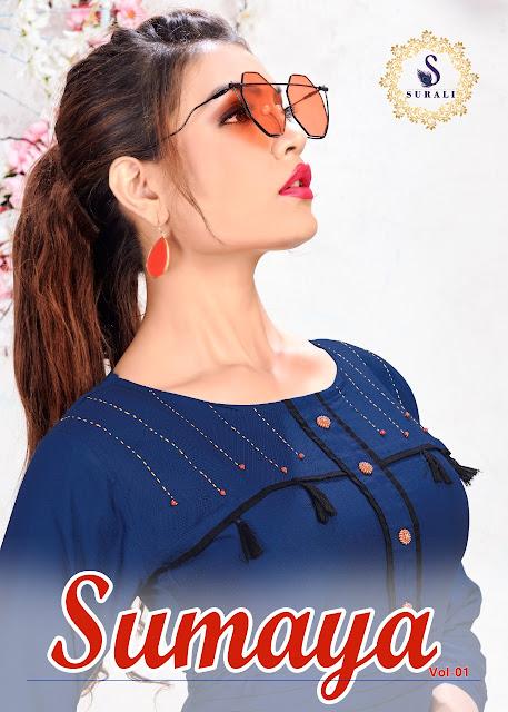 Surali Sumaya rayon kurtis | Surat | Wholesaler