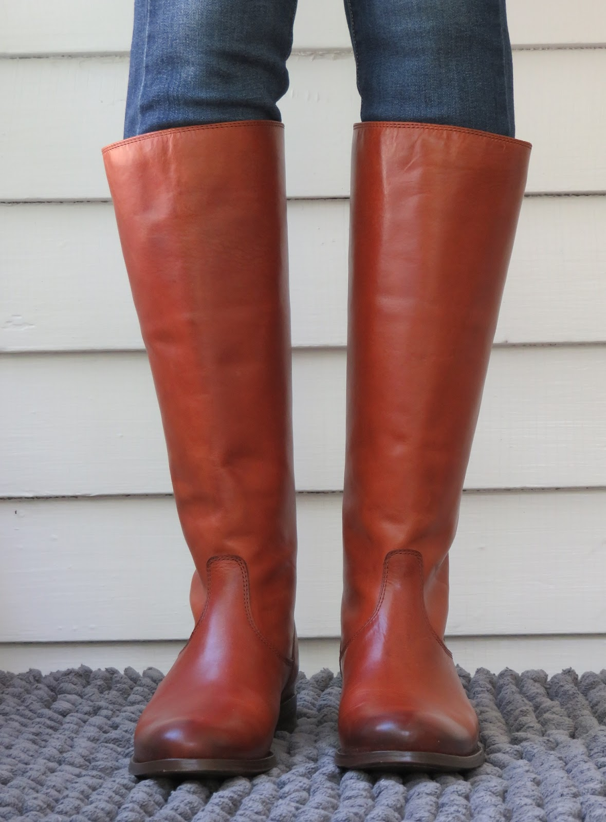 85998b02d85 Howdy Slim! Riding Boots for Thin Calves  Frye Melissa Button Back Zip