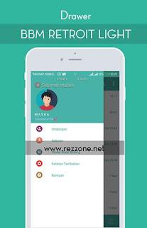 Download BBM MOD RETROIT LIGHT v1.5 Unclone Apk Terbaru