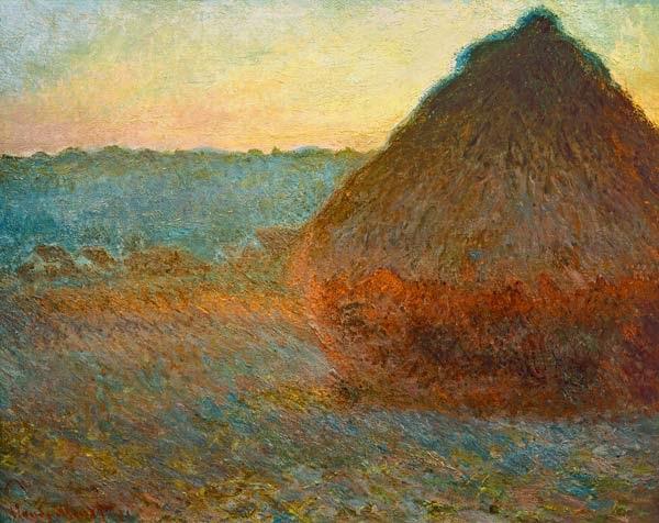 Claude Monet Meule. 1891 Sotheby′s, 1999
