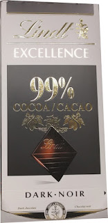 Lindt 99 percent dark chocolate