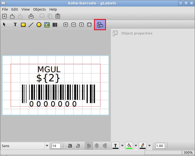 Koha Geek: Create barcode/label using glabels software