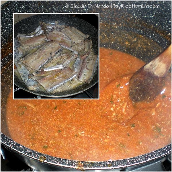 Spaghetti al sugo di sciabola