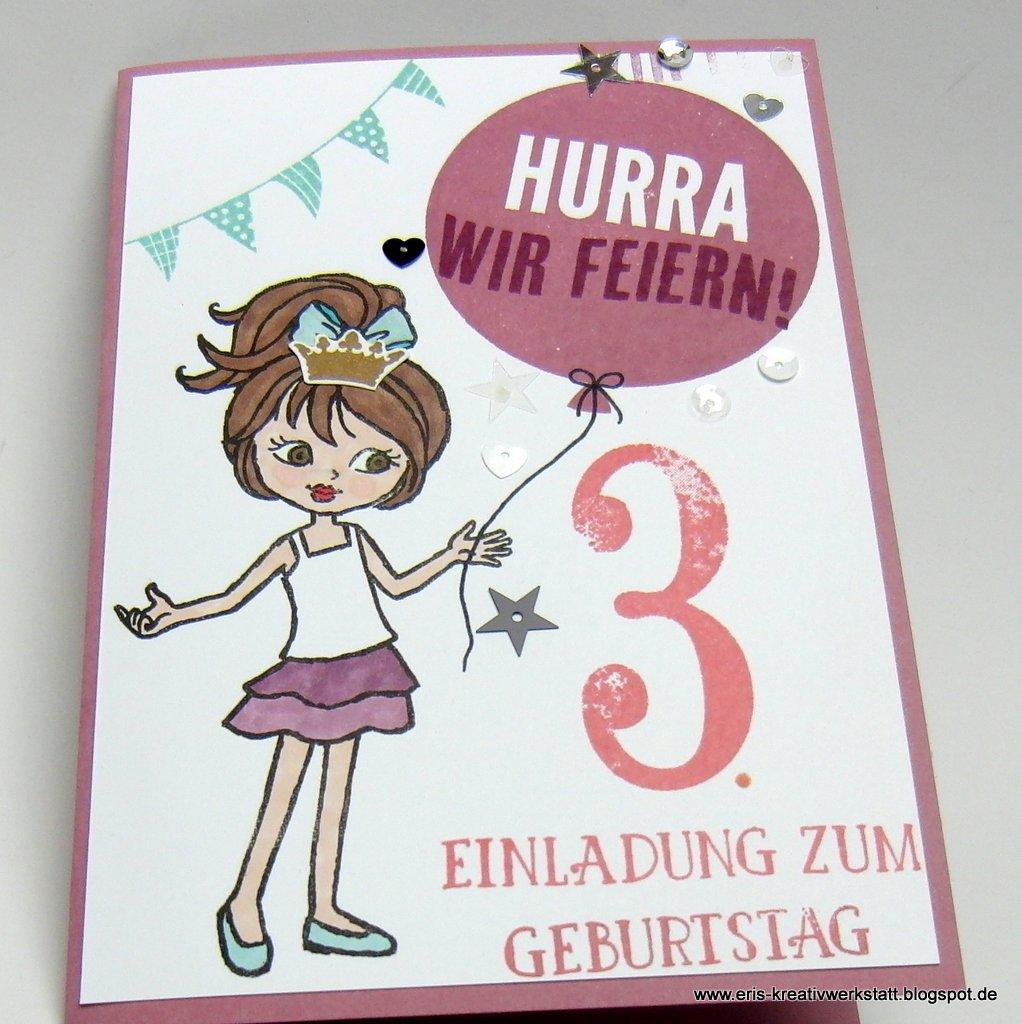 erika's blog, Einladung