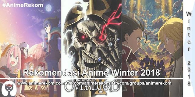 25 Rekomendasi Anime Winter 2018 (Pilihan Terbaik)