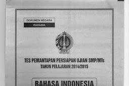 SOAL TPM PROPINSI DIY 2015 Bahasa Indonesia (2-3 Maret 2015)