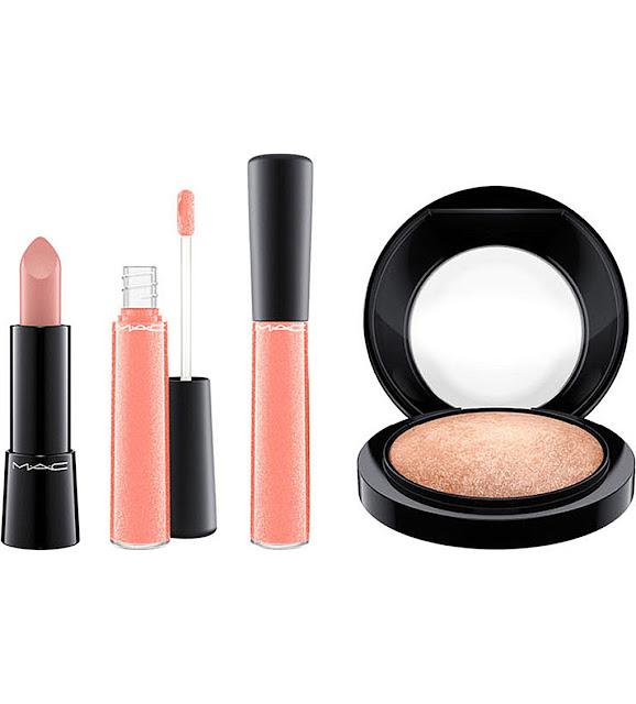 mac nutcracker, mac sweet nude set, mac makeup set, mac nutcracker sweet nude,