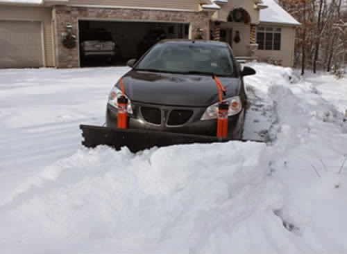SNOW BLOWING WITH ROBERT: Plow it Yourself: Residential ...