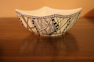 Zentangle bowl
