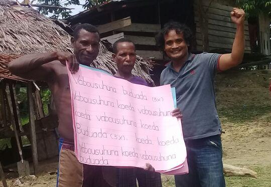 Duet Mesakh – Malena Berantas Buta Huruf Di Kabupaten Memberamo Raya