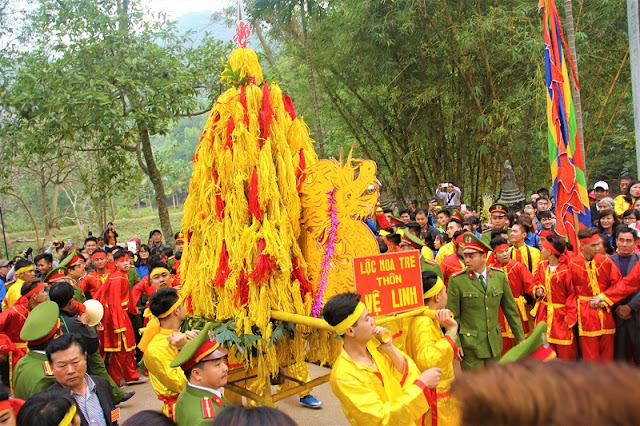 10 interesting festivals on the first lunar month in the north of Vietnam 5