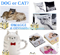 Logo Cane o Gatto ? scopri i bellissimi omaggi dedicati ai nostri amici a 4 zampe per il mese di Gennaio