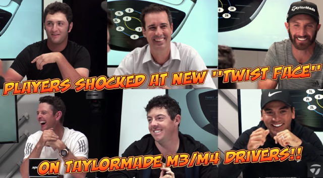 TaylorMade M3 M4 Driver Twist Face Reveal