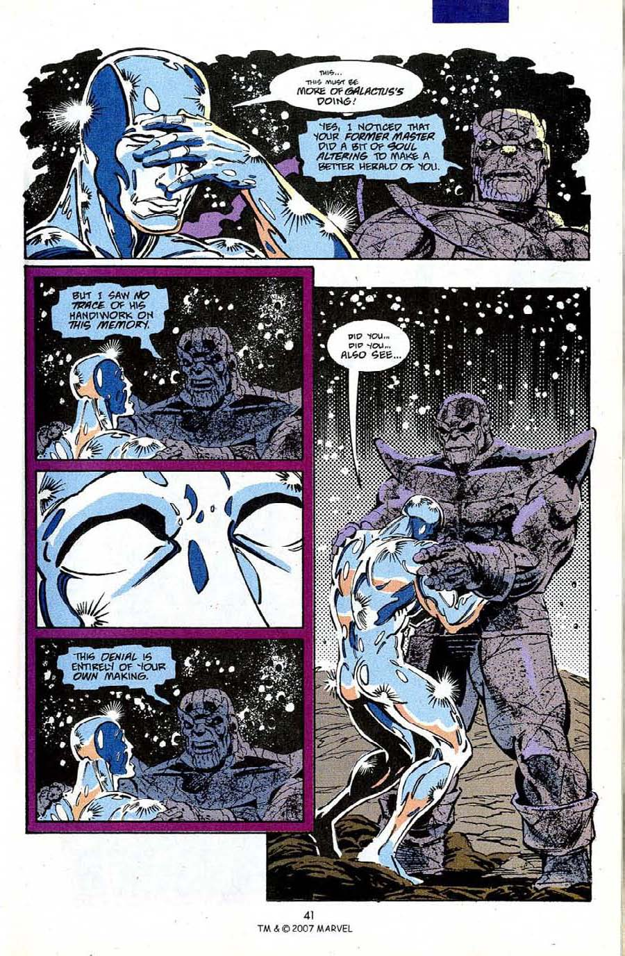 Read online Silver Surfer (1987) comic -  Issue #50 - 43