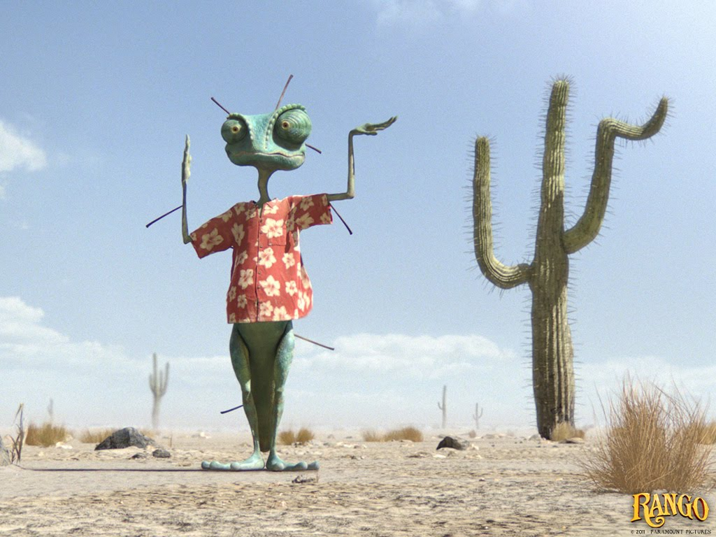 RANGO MOVIE WALLPAPERS & POSTERS