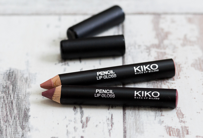 Review | KIKO Pencil Lipglosses