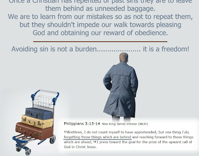 Baggage - Are you carrying a lot of baggage around from the past? There is a positive future ahead.
