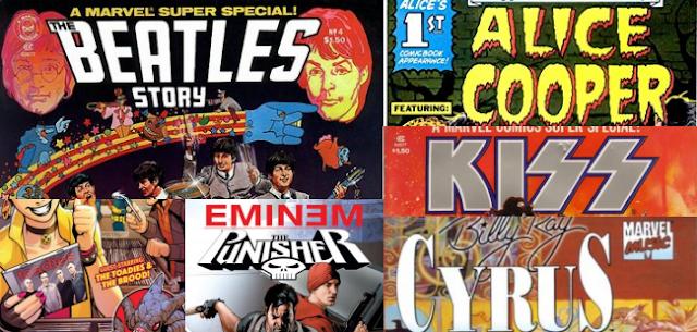 6 Musisi Dunia di Komik Marvel