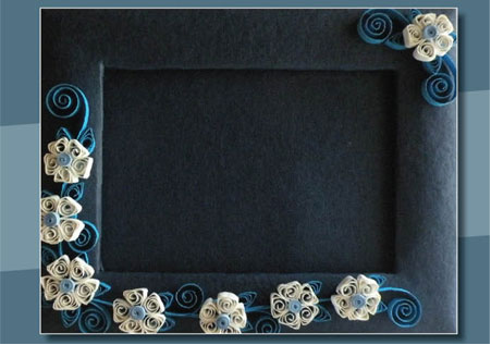 Latest Glasses Frame Designs : Latest Quilling Photo Frame Designs Online 2015 - Quilling ...