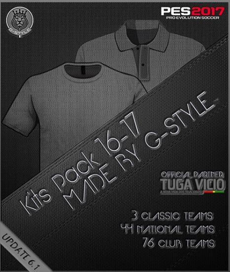 PES 2017 G-Style Kit Pack V6.1