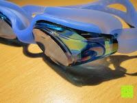 Seite: »Snake« Schwimmbrille, 100% UV-Schutz + Antibeschlag. Starkes Silikonband + stabile Box. TOP-MARKEN-QUALITÄT! Große Farbauswahl.