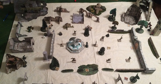 """Hunt for the Golem"" Part II - A Frostgrave AAR"
