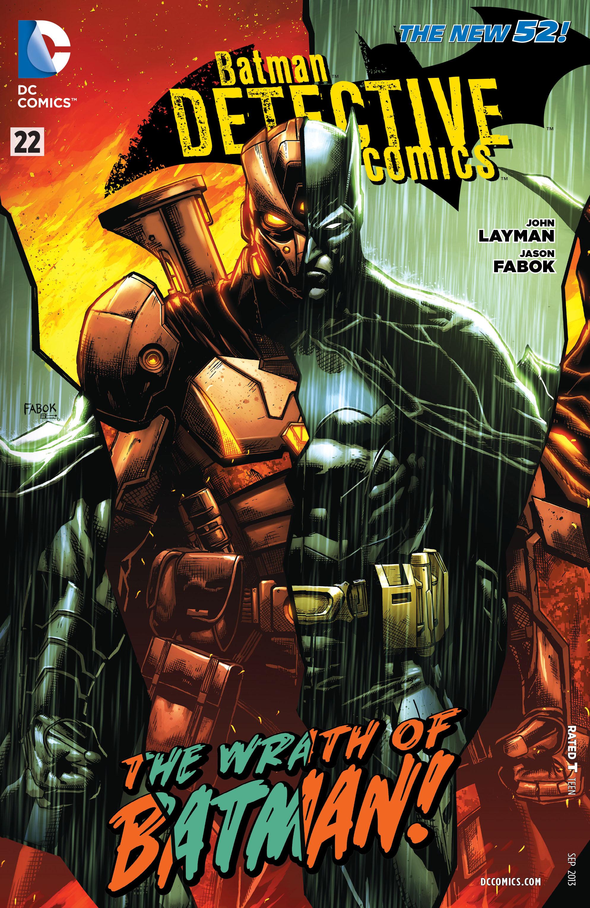 Detective Comics (2011) 22 Page 1