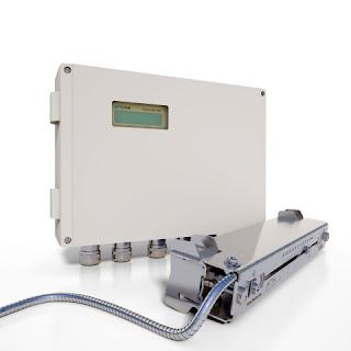 industrial process ultrasonic flowmeter clamp on style