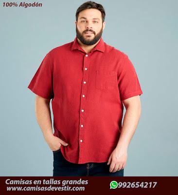 Camisas tallas grandes Loreto