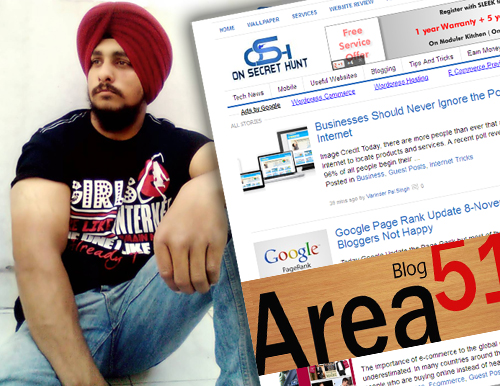 blogger interviews varinder pal singh on secret hunt