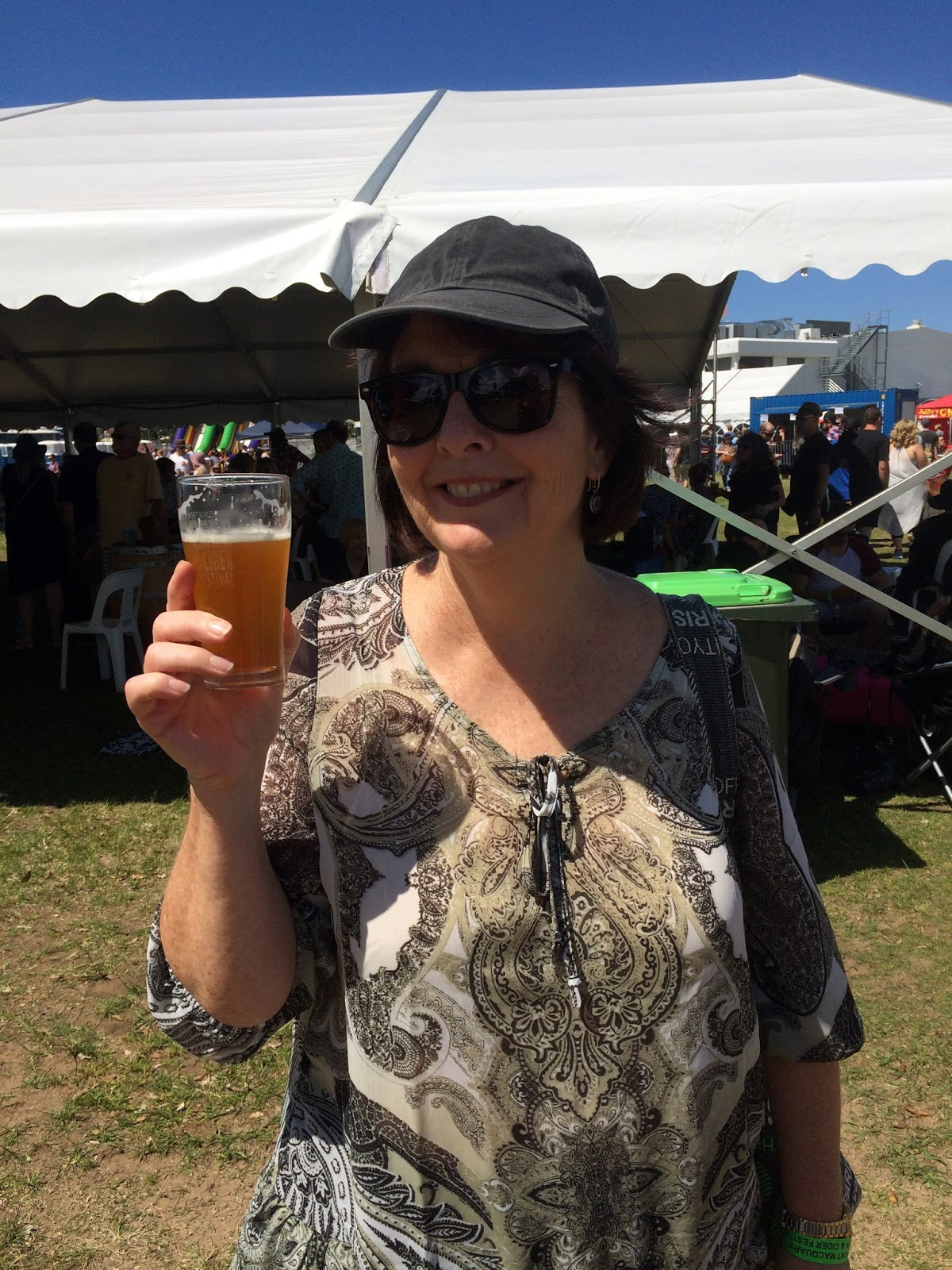 Port Macquarie Beer and Cider Festival Woman with Beer