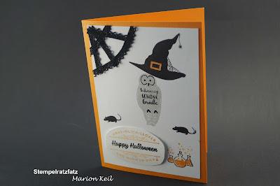 """Halloween - """"Karte"""" mit Hokuspokus von Stampin´ Up!"""