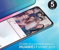 Castiga un smartphone Huawei P smart 2019 - concursuri online - castiga.net