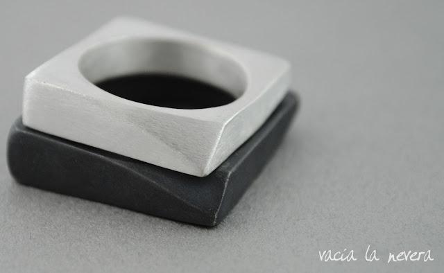 anillos de boda de plata
