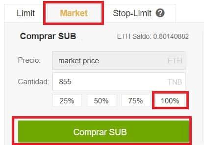 Cómo Comprar Substratum (SUB)
