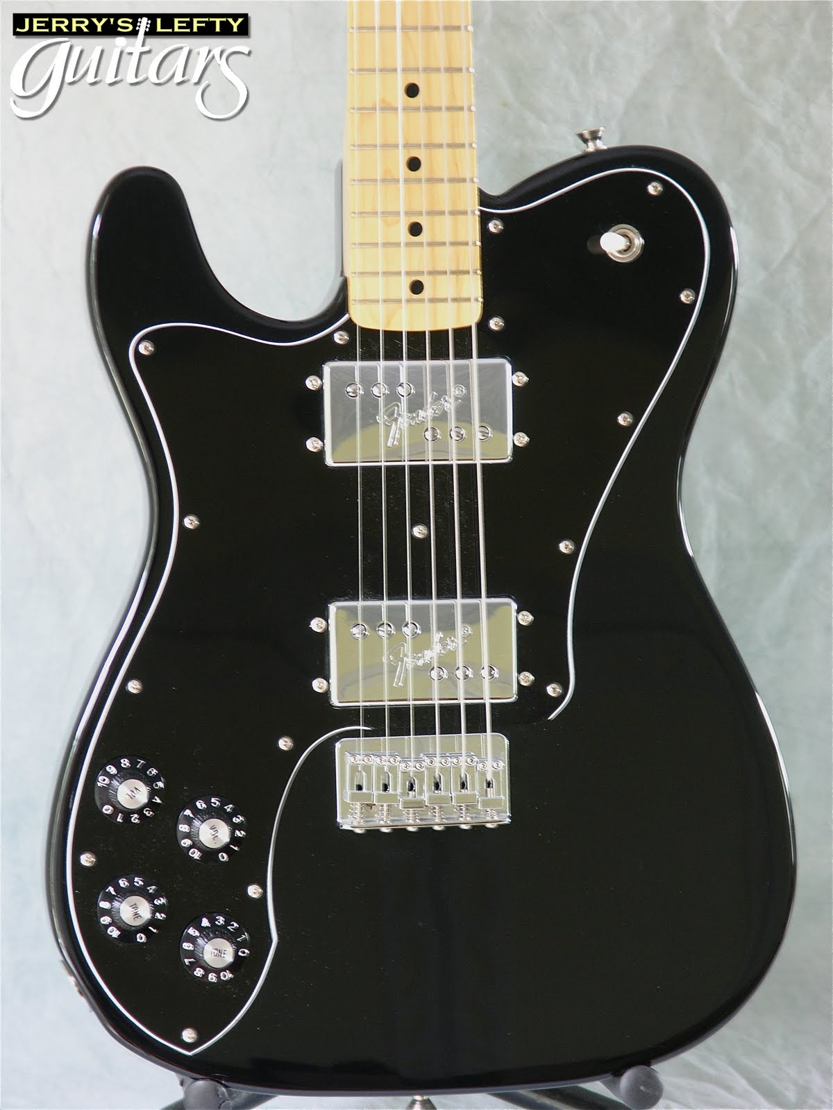 jerry 39 s lefty guitars newest guitar arrivals updated weekly fender cij tele deluxe 39 72ri left. Black Bedroom Furniture Sets. Home Design Ideas
