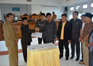 8 Fraksi DPRD Setujui Penetapan 3 Ranperda