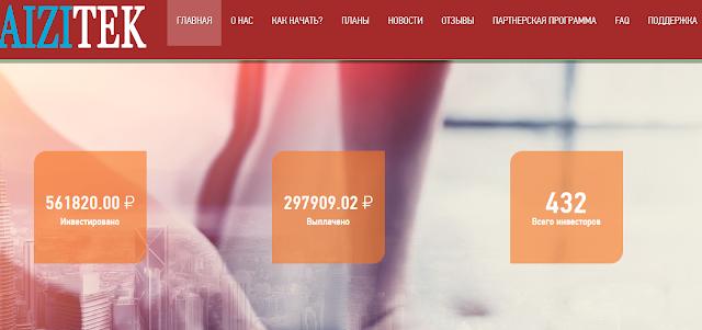 [SCAM] Мошеннический сайт aizitek.ru (aizitek@yandex.ua) - Отзывы, платит или лохотрон?