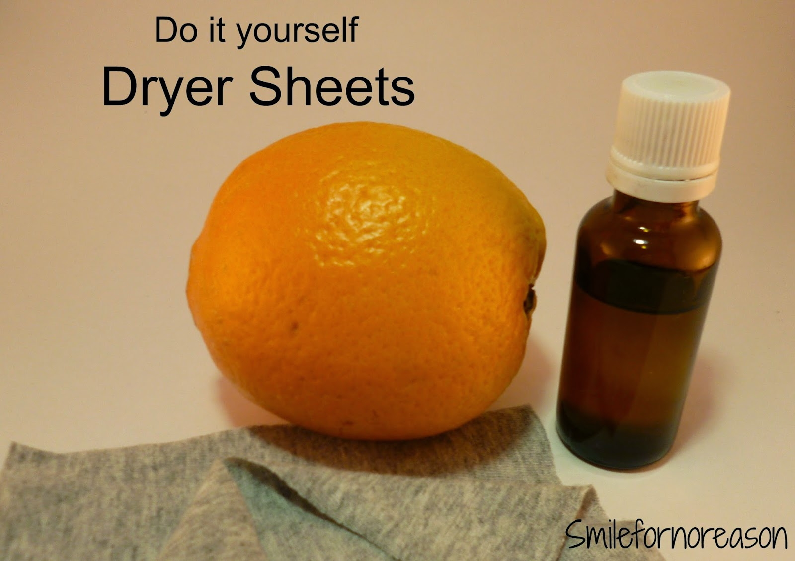 dryer sheets made with essential oil