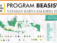 Info Beasiswa S1 Dalam Negeri TA 2019/2020 - Karya Salemba Empat (KSE)