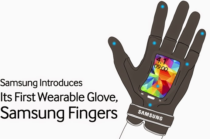 "Samsung Introduces ""Samsung Fingers"", Its First Wearable Glove"