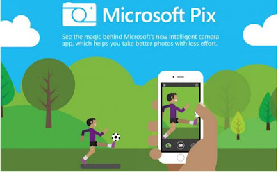 Microsoft Pix Aplikasi Kamera Pintar Buatan Microsoft Research Segera Hadir di iPhone