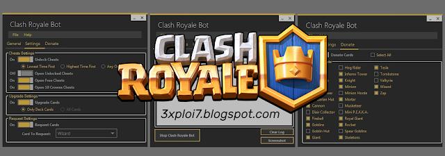 Download Clash Royale BOT