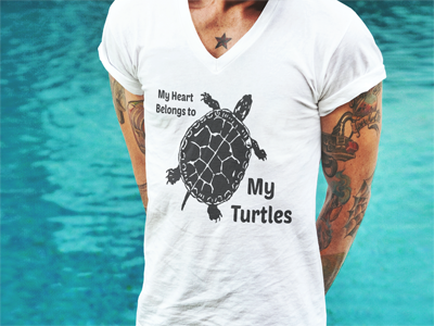 Spiffy Pet T-Shirts For Turtle Lovers