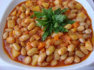 Pinto Bean Stew (Zeytinyagli Barbunya)