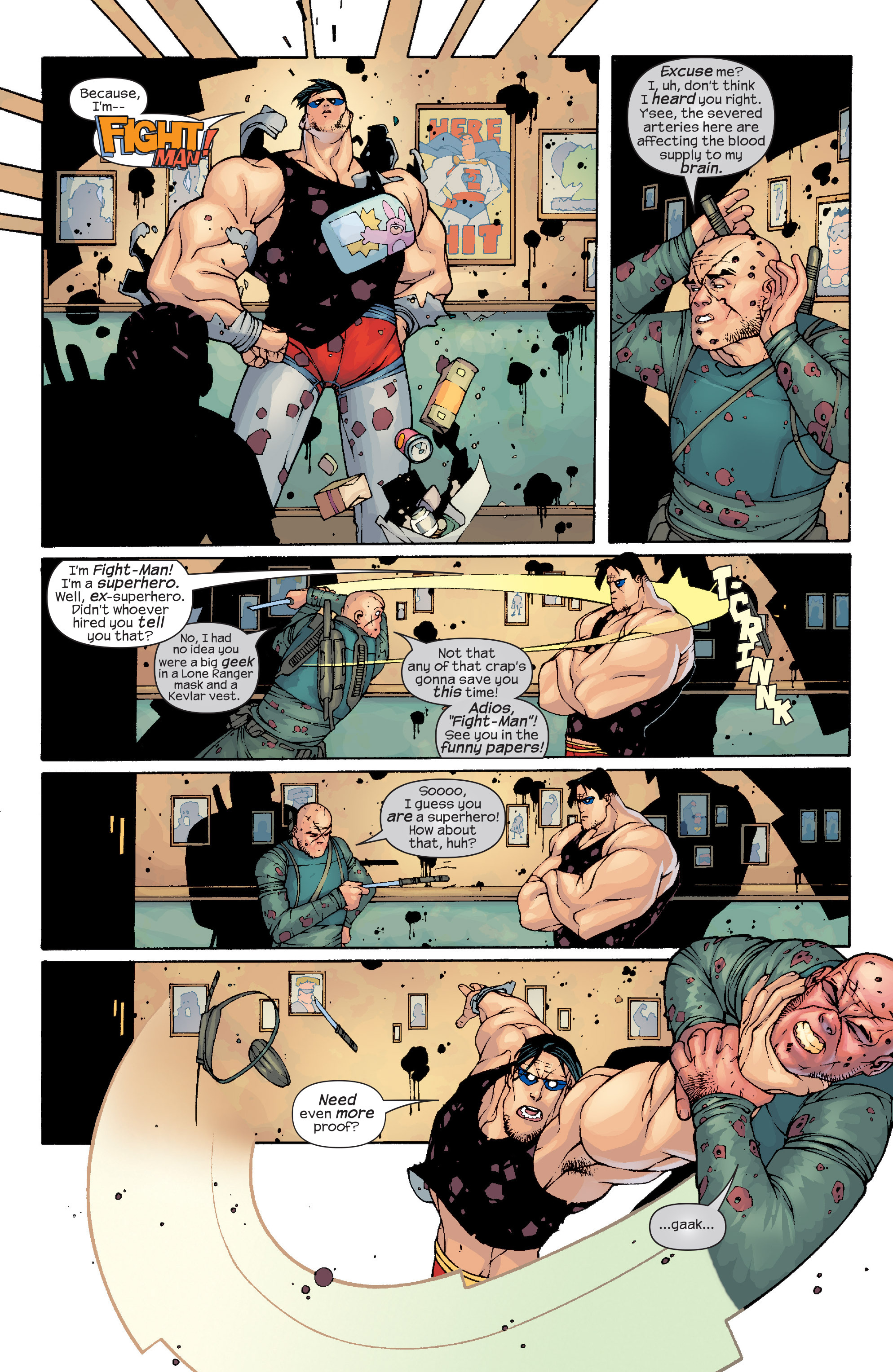 Read online Agent X comic -  Issue #10 - 14