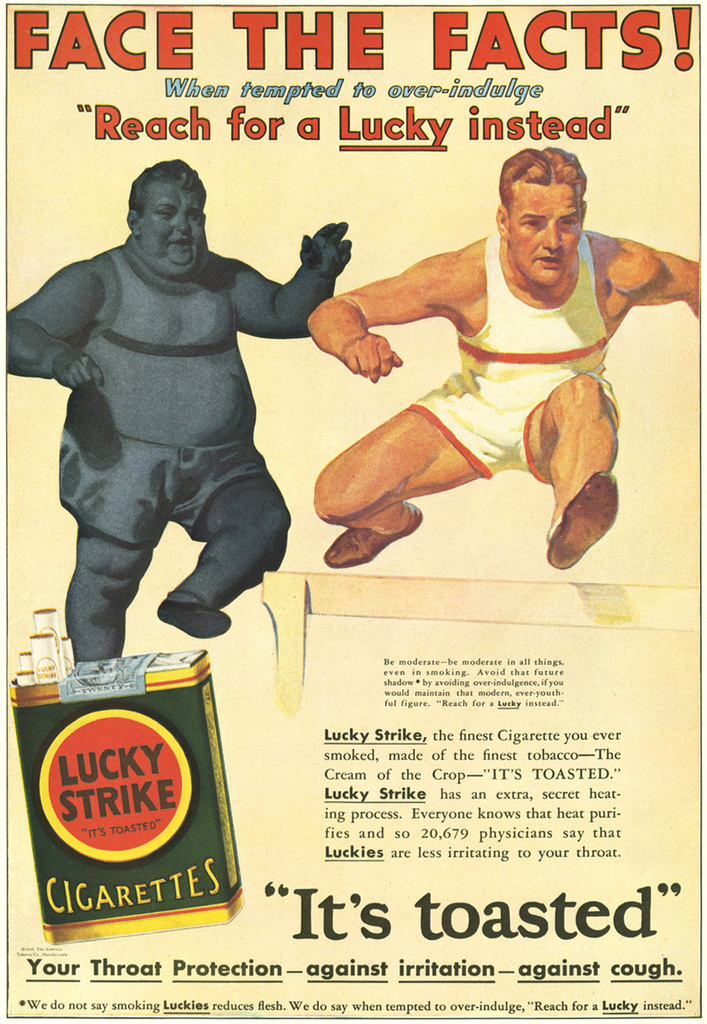 Bizarre Tobacco Advertising from 1920s-1930s ~ vintage ...
