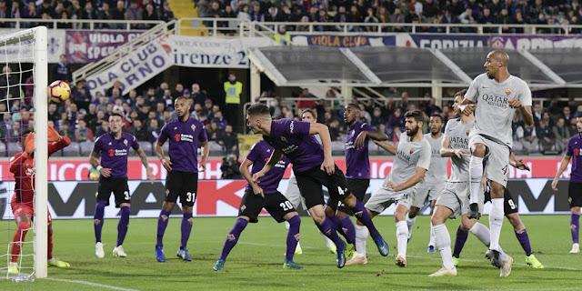 Menggenaskan, As Roma di Bantai habis Fiorentina